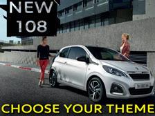 Peugeot 108 colours - Choose your theme | 108 Configurator
