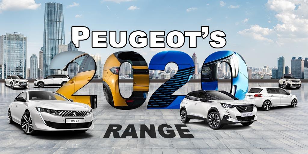 The 2020 Peugeot Range Detailed Charters Peugeot