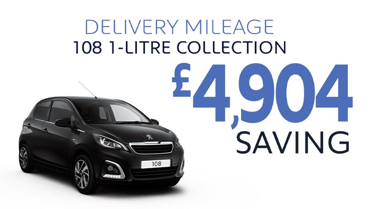 Delivery Mileage Savings: Black 108 Collection