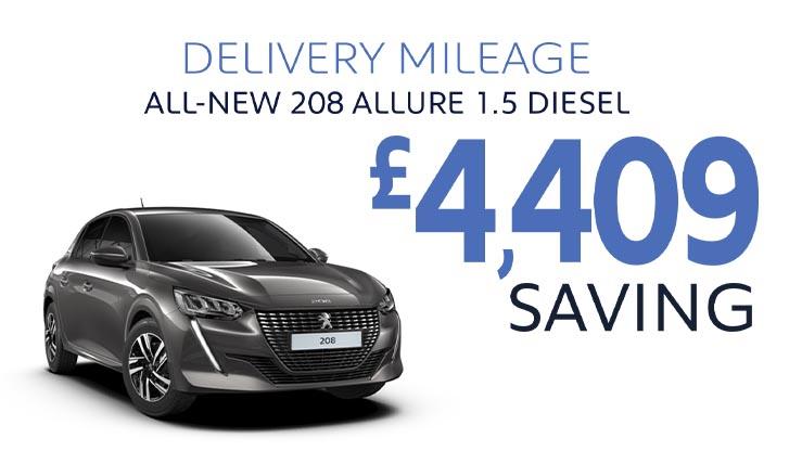 Delivery Mileage Savings: Nimbus Grey 208 Allure