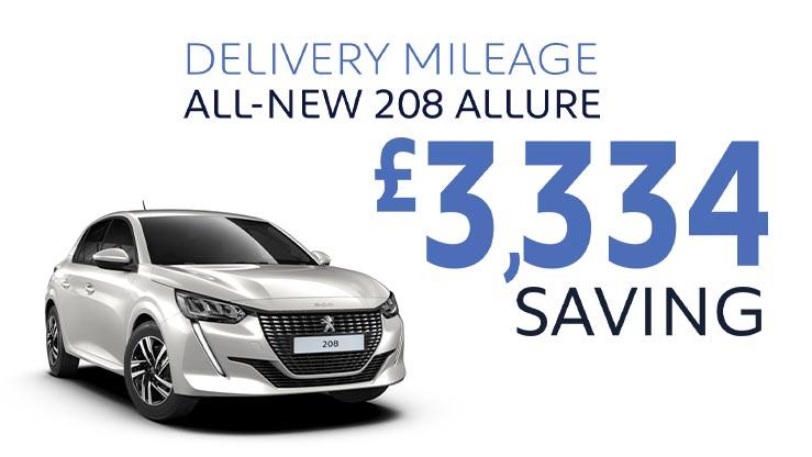 Delivery Mileage Savings: Pearl White 208 Allure