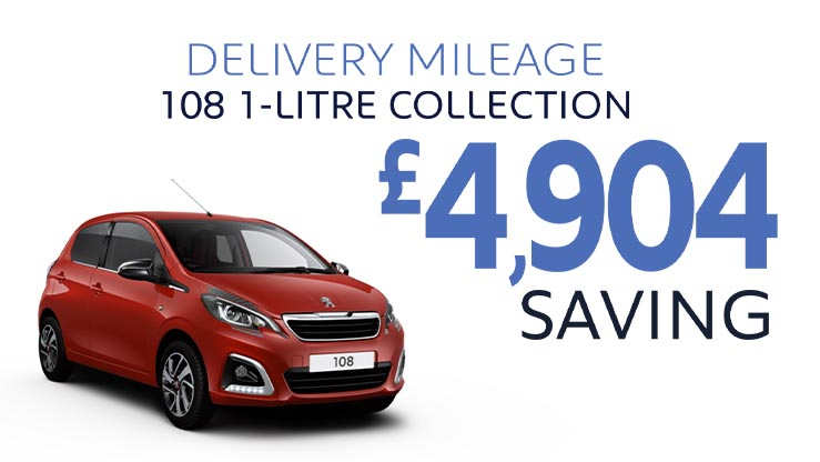 Delivery Mileage Savings: Red 108 Collection