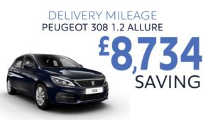 Delivery Mileage Savings: Twilight Blue 308 Allure