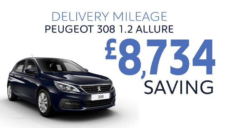 Delivery Mileage Savings: Twilight Blue 308 Allure