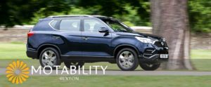 new-ssangyong-rexton-on-motability-payments