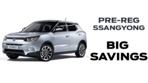 Save  £1405 on Delivery Mileage Tivoli 1.6D ELX Style (17MY)