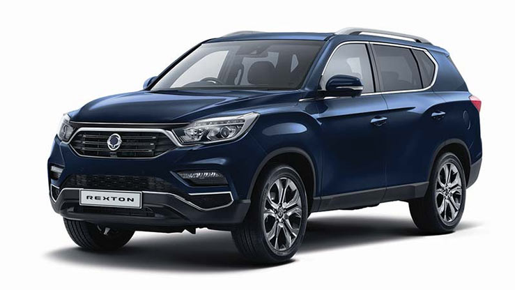 Business Contract Hire   £299 per month   New Rexton EX Automatic 7-seat