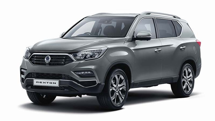 Business Contract Hire   £375 per month   New Rexton Ultimate Automatic 7-seat