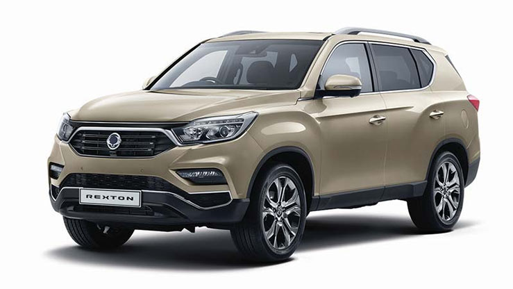 Outright Purchase | £38995 for a New Rexton Ultimate Automatic