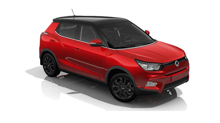 Save  £3355 on Delivery Mileage Tivoli 1.6D ELX Style (17MY)