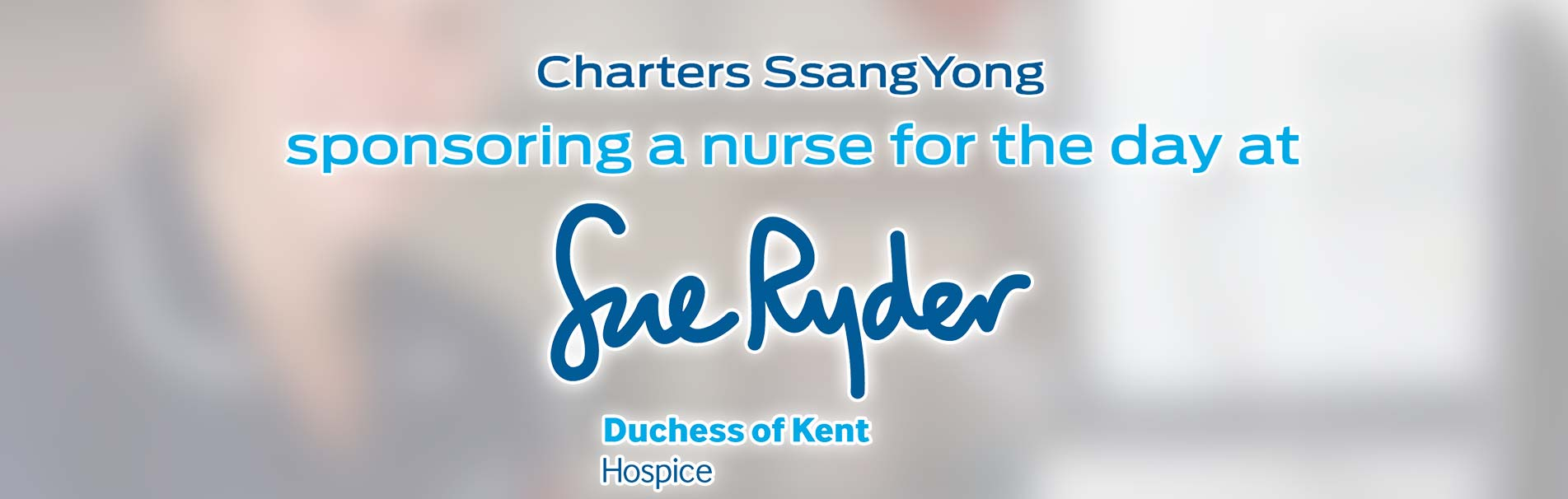 sue-ryder-duchess-of-kent-hospice-nurse-for-a-day-sponsored-by-charters-ssangyong-reading-sli