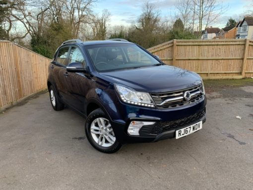 Charters Ssangyong Reading New Car Sales Aftersales Berkshire