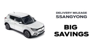 Save  £2000 on Delivery Mileage Tivoli Ultimate Automatic