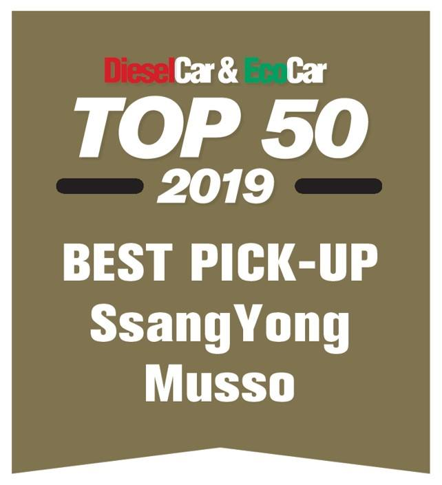 DieselCar & EcoCar Best Pick-up award 2019