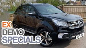Save  £4000 on Ex Demonstrator Korando ELX Diesel 4x4