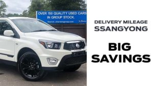 Save  £4295 on Grand White Delivery Mileage SsangYong Musso EX Auto Pickup