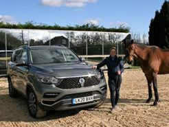 ssangyong-brand-ambassador-pippa-funnel-collects-rexton-nwn