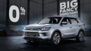 Hire Purchase | £10093 deposit | £399 per month | New Korando Pioneer 1.6 Diesel Auto 4WD