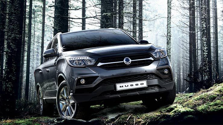 Hire Purchase   £7440 deposit   £309 per month   Musso EX Manual