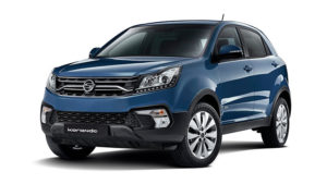 Outright Purchase | £17995 for a Korando SE Diesel 2WD