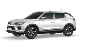 Outright Purchase | £23745 for a New Korando Ventura petrol manual