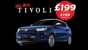 Personal Contract Purchase | £9382 deposit | £399 per month | New Rexton Ventura Auto