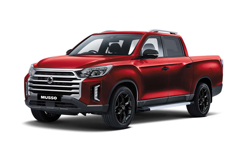 new-ssangyong-musso-pick-up-indian-red