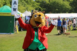 Surrey Heath Show Mascot
