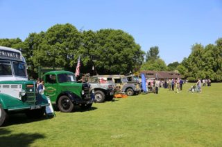 Commercials on display at Surrey Heath Show