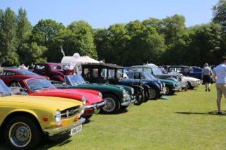 Classic car show Surrey Heath