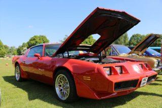 American cars at Surrey Heath Show