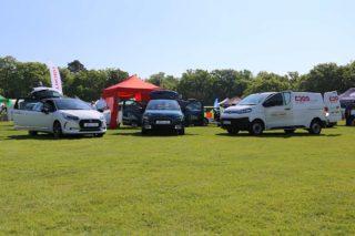 Citroen range on display at Surrey Heath Show