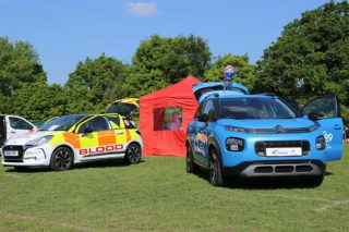 C3 Aircross on display at Surrey Heath Show