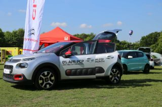 Citroen C3 on display at Surrey Heath Show