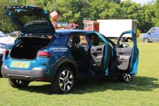 Citroen C4 Cactus at Surrey Heath Show