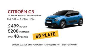 citroen-c3-flair-offers-pcp-car-finance-200-per-month-zero-percent-apr-an