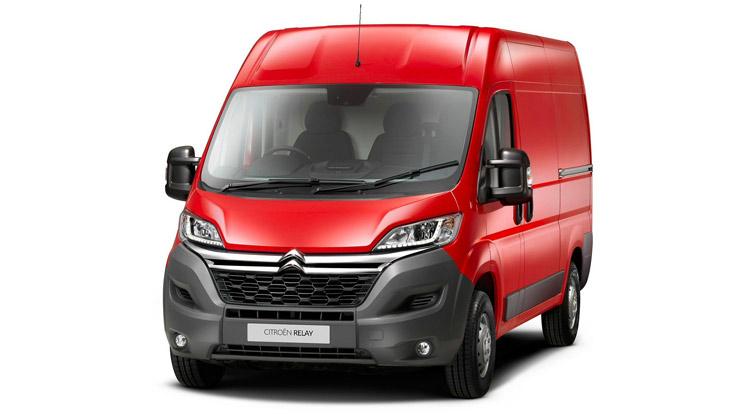 Citroen Relay vans starting from just £16990 +VAT