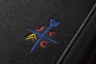 citroen-c1-jcc-plus-carpet-mat-logo