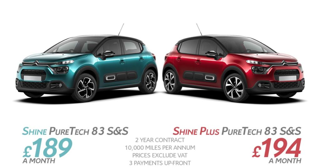 new-citroen-c3-contract-hire-offers-spring-2021-fba