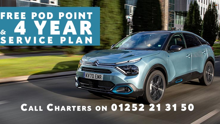 new-citroen-e-c4-free-podpoint-and-4-year-service-plan-an